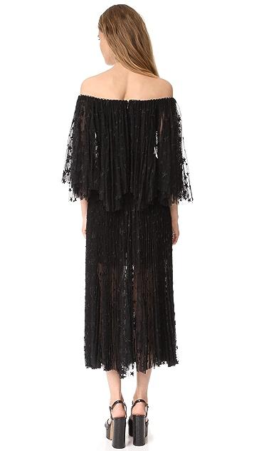 Maria Lucia Hohan Off the Shoulder Dress