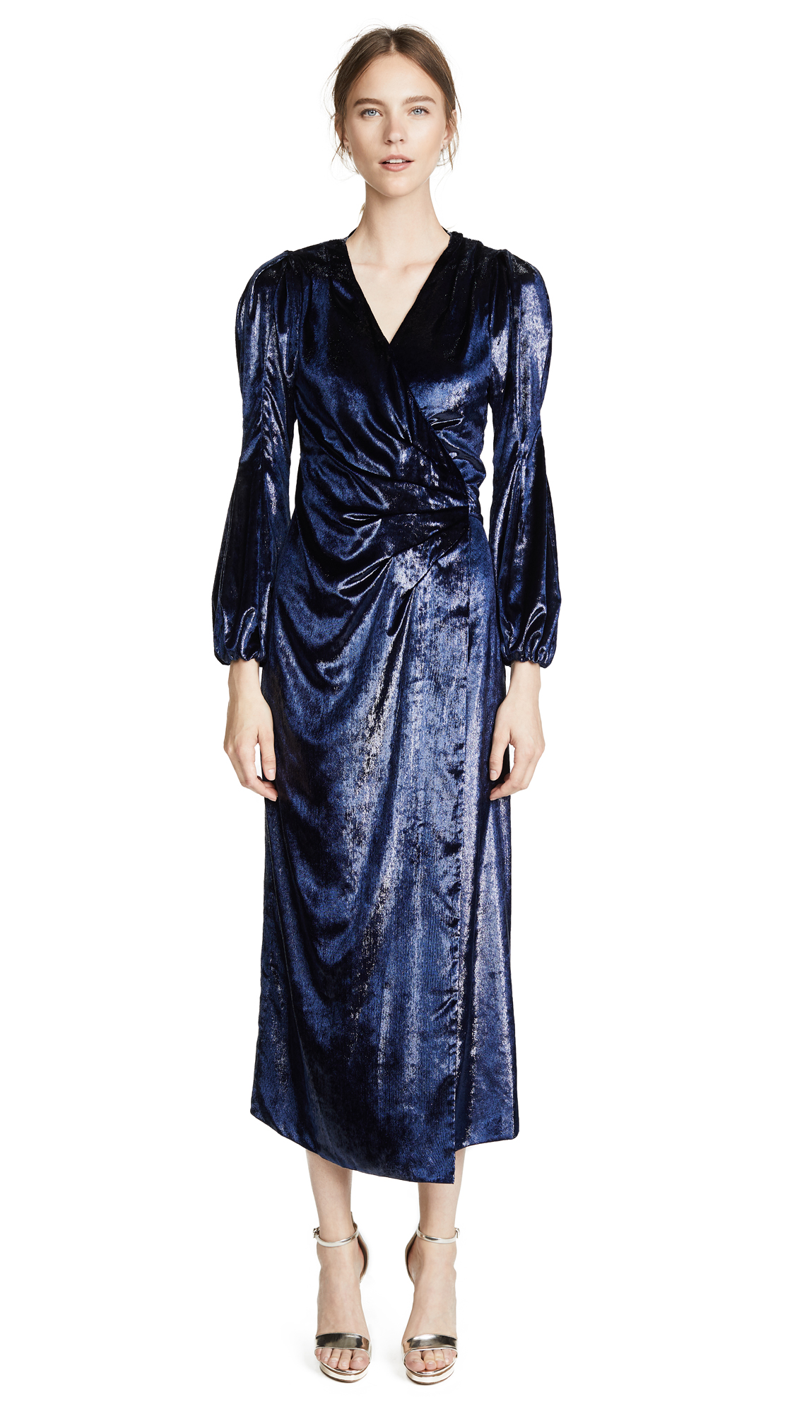 Maria Lucia Hohan Assia Dress In Navy