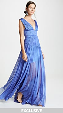 Blue Long Bridesmaid Dresses