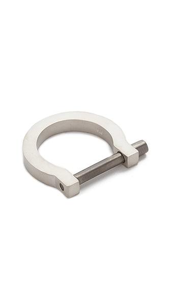Miansai Modern Screw Cuff Ring