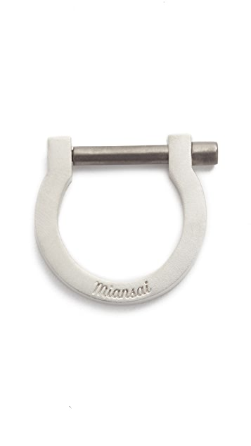 Miansai Modern Screw Cuff Ring