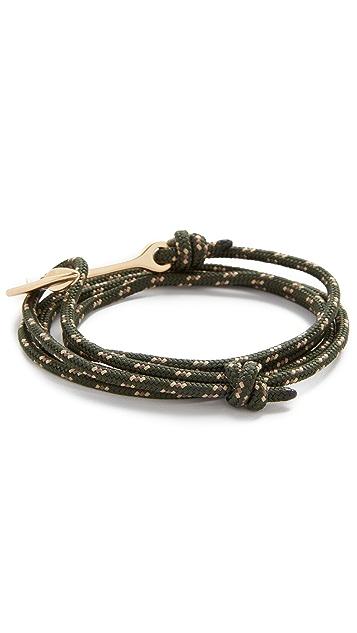 Miansai Anchor Rope Wrap Bracelet