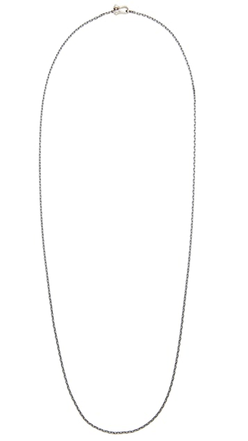 Miansai Sterling Silver Marine Link Chain Necklace