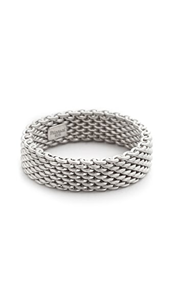 Miansai Moore Mesh Ring