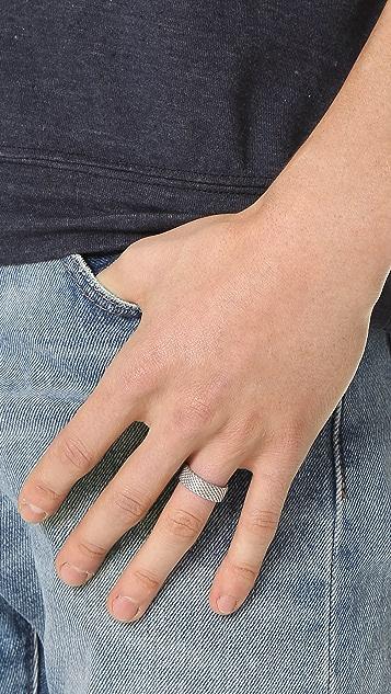 Miansai Moore Mesh Ring