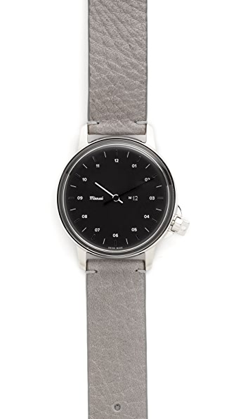 Miansai M12 Leather Watch