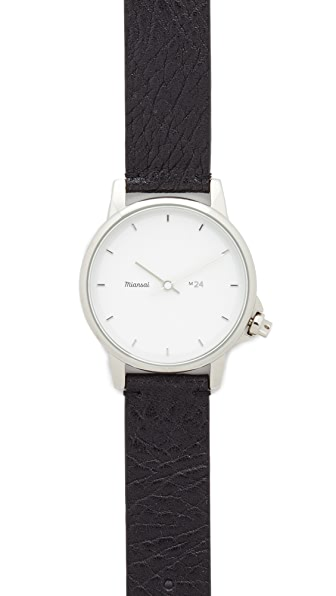 Miansai M24 Leather Watch