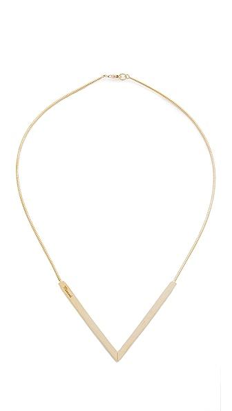 Miansai Angular Necklace - Gold