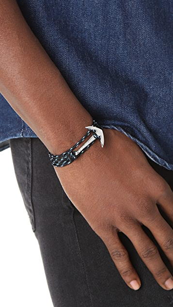 Miansai Anchor Rope Wrap Bracelet