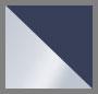 Silver/Indigo