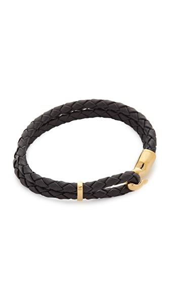 Miansai Single Trice Bracelet In Black