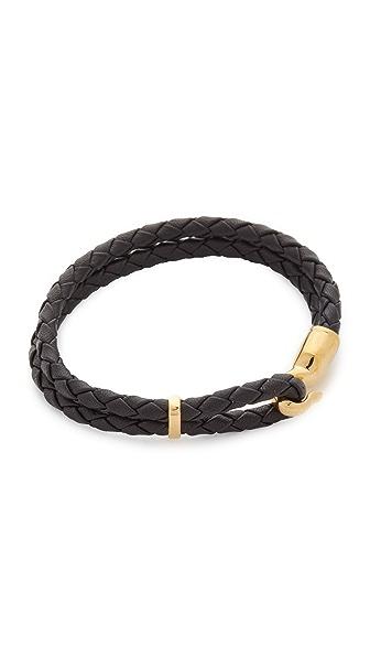 Miansai Single Trice Bracelet - Black