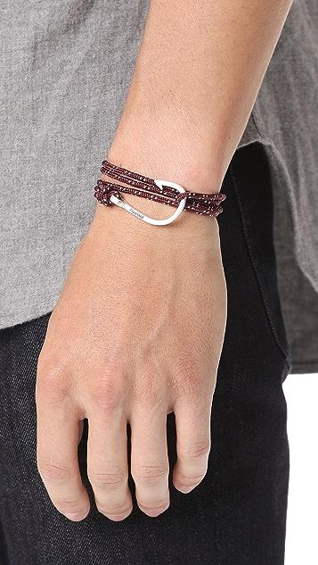 Miansai Hook Rope Wrap Bracelet