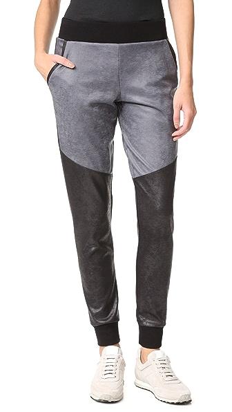 MICHI Moto Sweatpants - Grey/Black