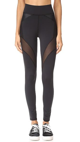 MICHI Illusion Leggings In Black