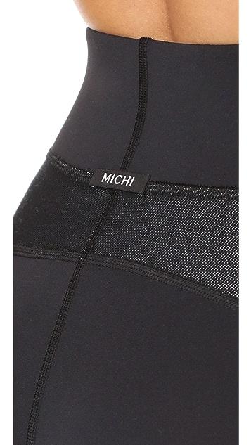 MICHI Illusion Leggings