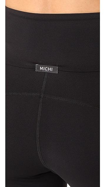 MICHI Summit High Waisted Leggings