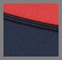 Deep Sea Navy/Fire Red/Black