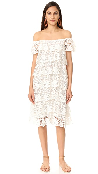 Miguelina Angelica Off the Shoulder Dress