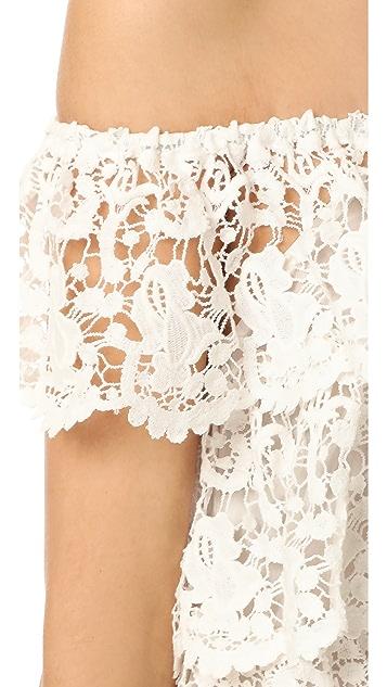 Miguelina Angelica Off the Shoulder Dress