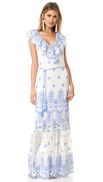 Miguelina Audrey Maxi Dress