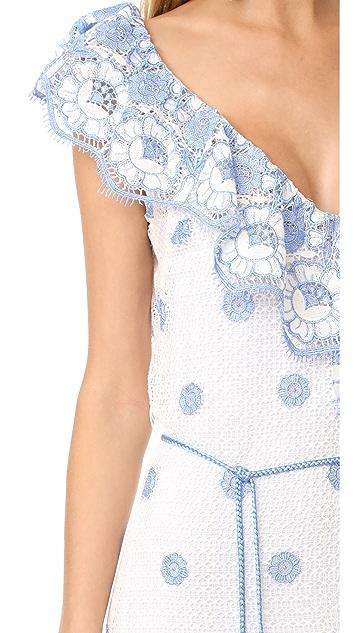 Miguelina Audrey Maxi Dress