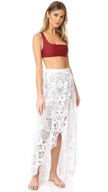 Miguelina Valencia Maxi Skirt