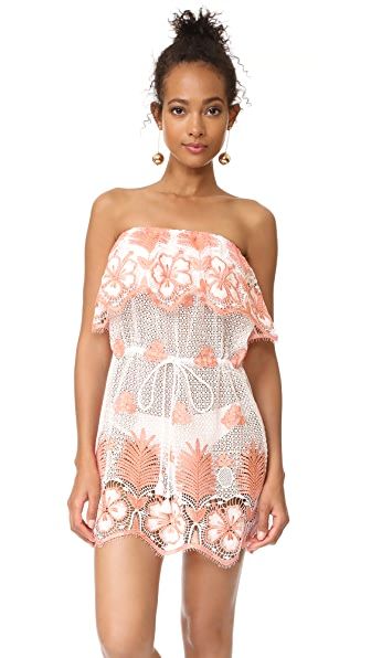 Miguelina Dylan Strapless Dress