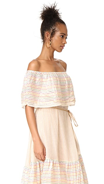 Miguelina Amaya Off Shoulder Dress