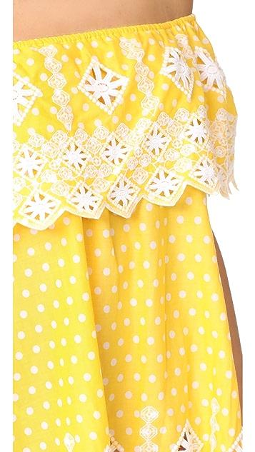 Miguelina Agnes Off Shoulder Dress