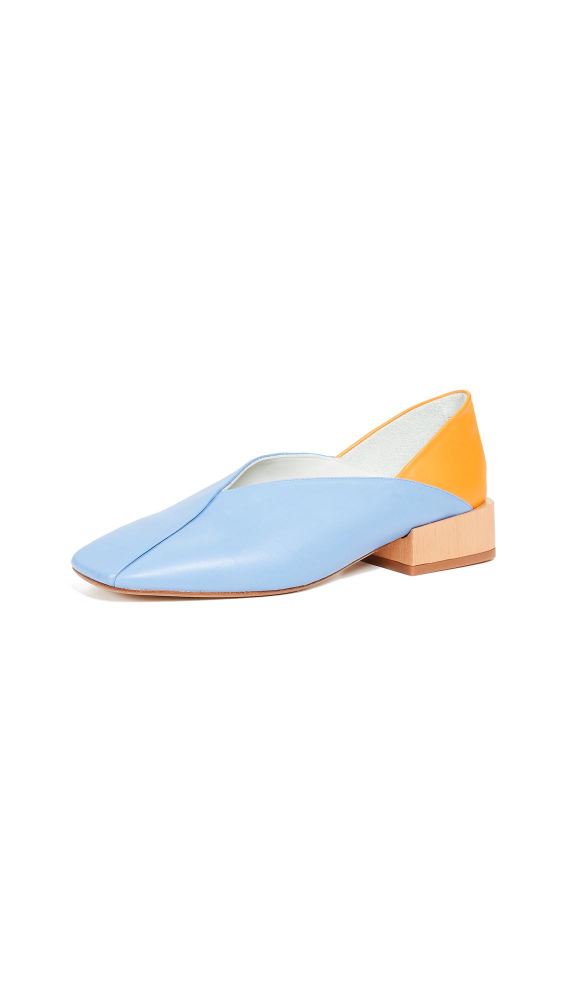 Miista Alma Flats - Cornflower Blue