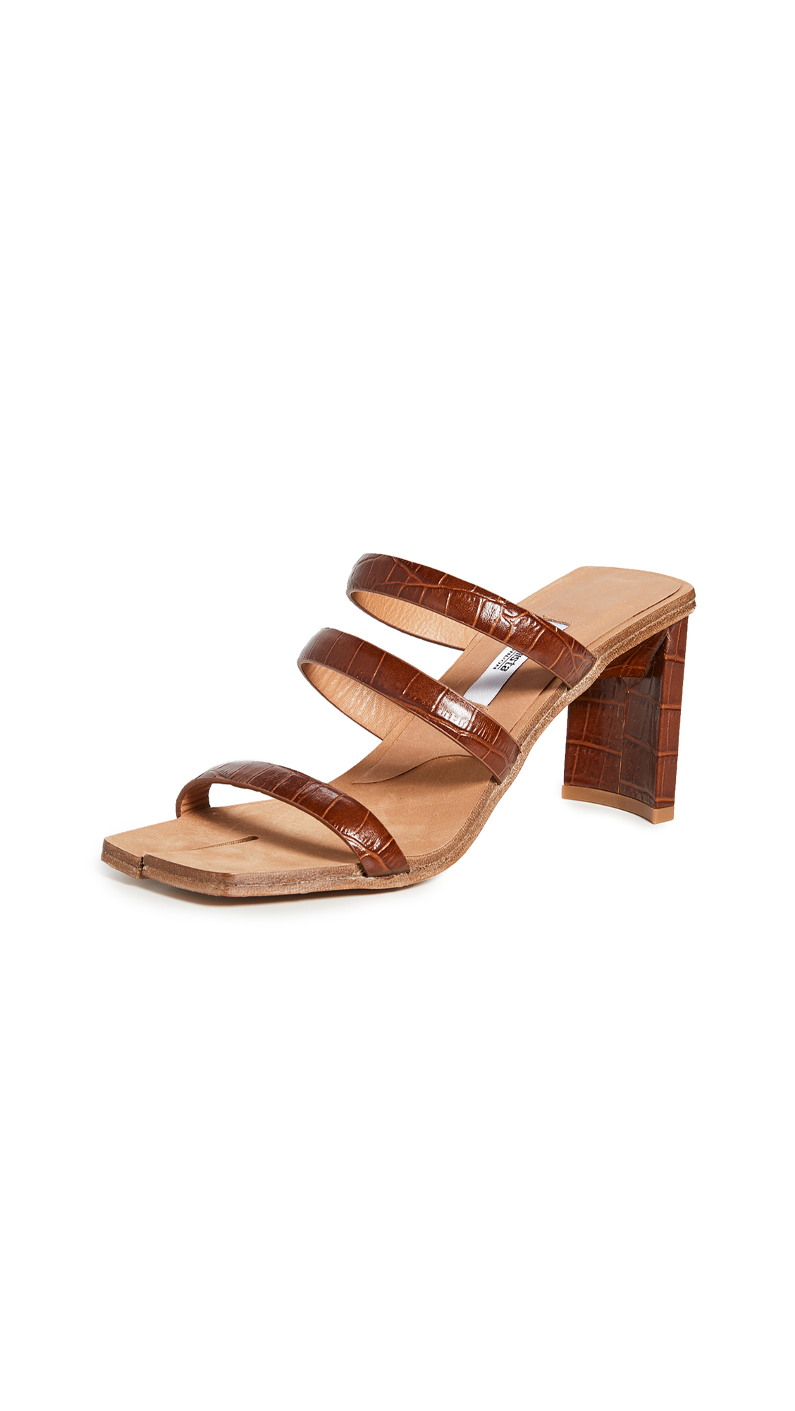 Miista Joanne Clay Croc Sandals - 50% Off Sale