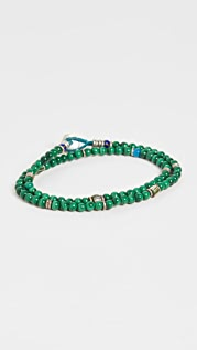 Mikia 4mm Beads Double Wrap Bracelet