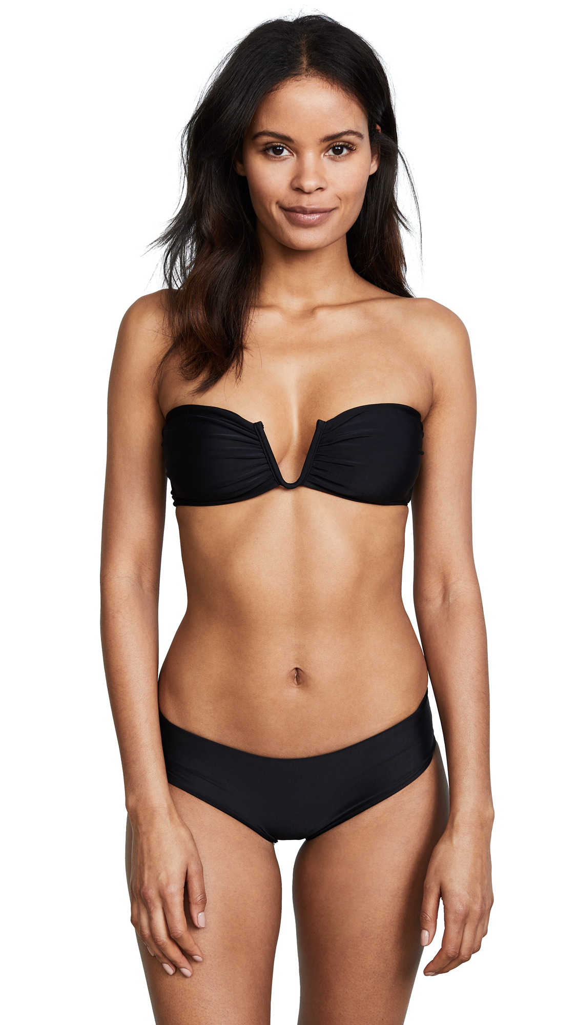 MIKOH Reunion Bikini Top In Night