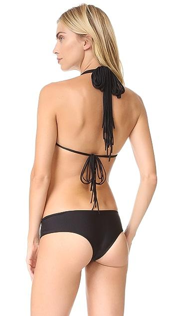 MIKOH Melbourne Triangle Bikini Top