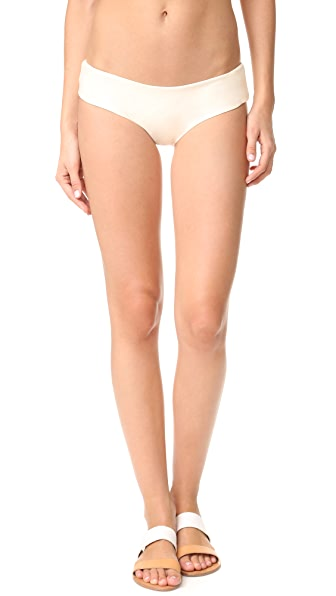 MIKOH Bondi Cheeky Bikini Bottoms - Bone