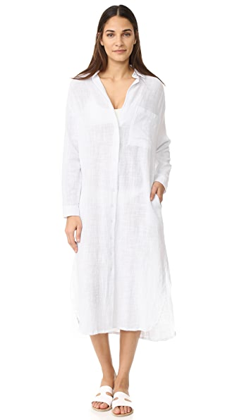 MIKOH Noosa Heads Shirtdress