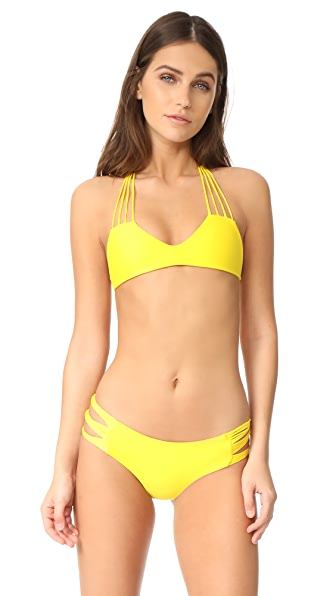 MIKOH Banyans String Racerback Top - Sunray
