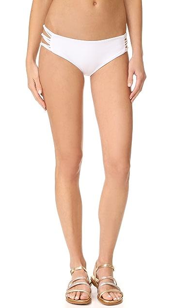 MIKOH Barcelona Skinny String Bikini Bottoms