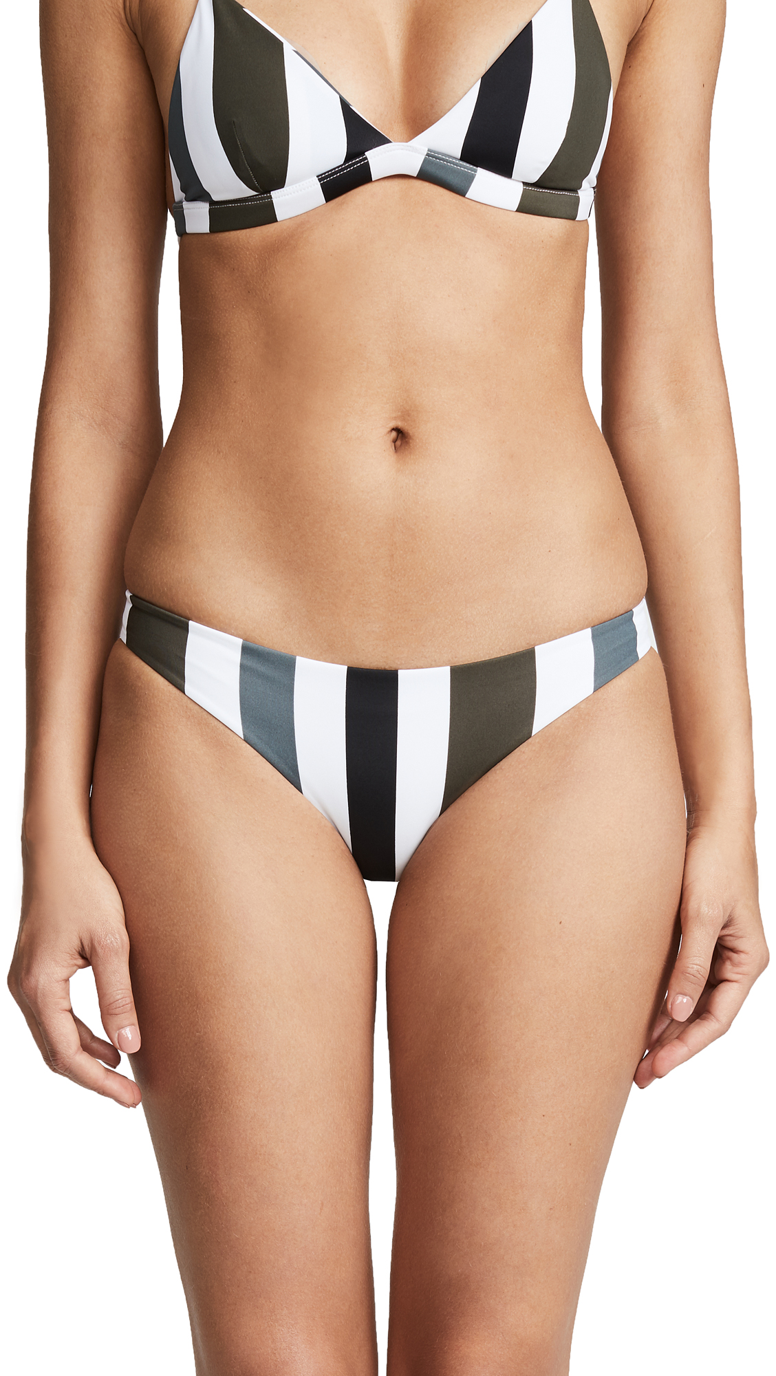 MIKOH Zuma Swim Bottoms In Stripe