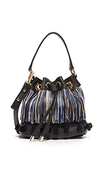 Milly Pom Pom Bucket Bag