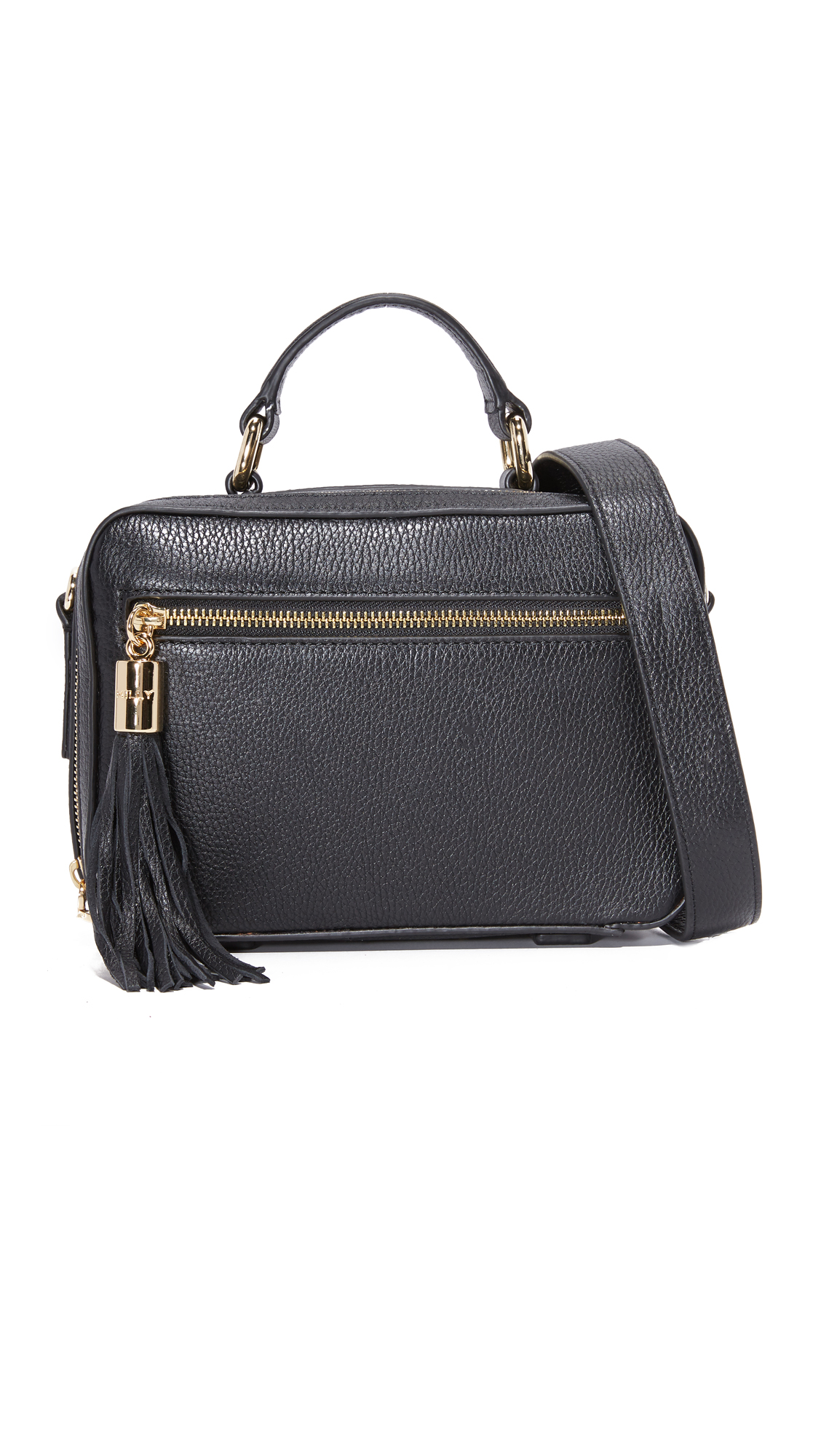 milly female milly small astor satchel bag black