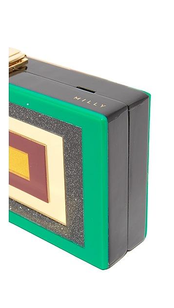 Milly Geo Box Clutch