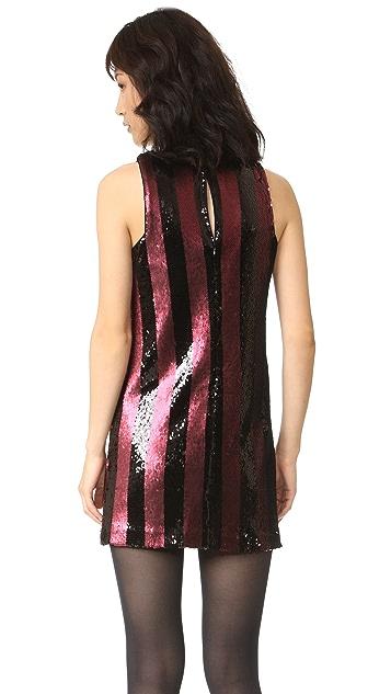 Milly Angular Mini Dress
