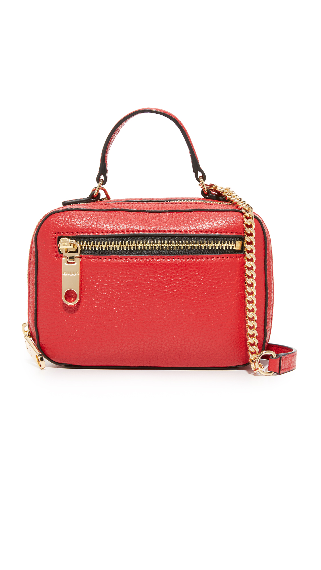 milly female milly astor mini satchel red