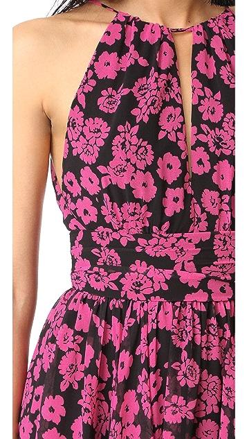 Milly Floral Print Vena Dress