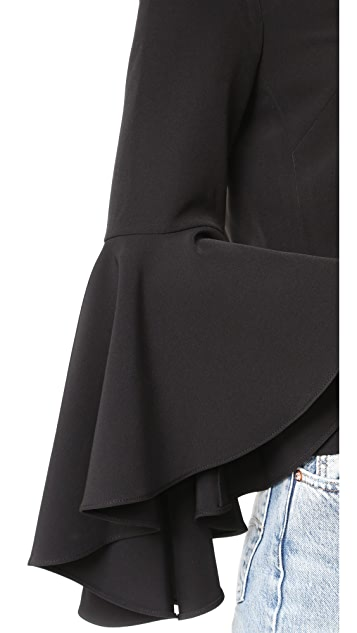 Milly Bell Sleeve Beetle Top