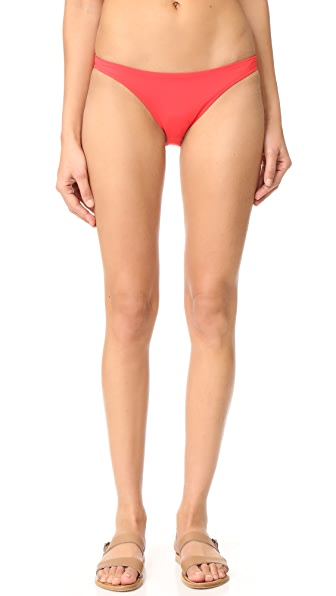 Milly St. Lucia Bikini Bottoms In Flame