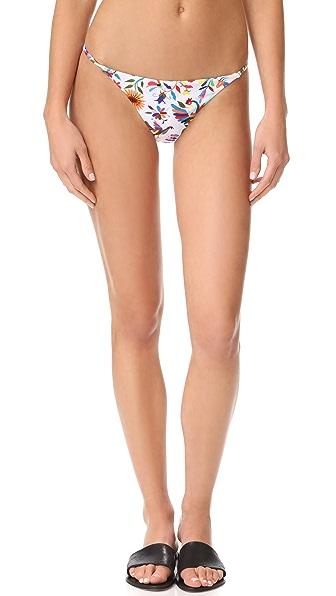 Milly Italian Folkloric Elba Bikini Bottoms