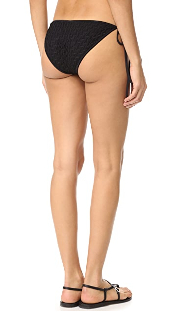 Milly Biarritz String Bikini Bottoms